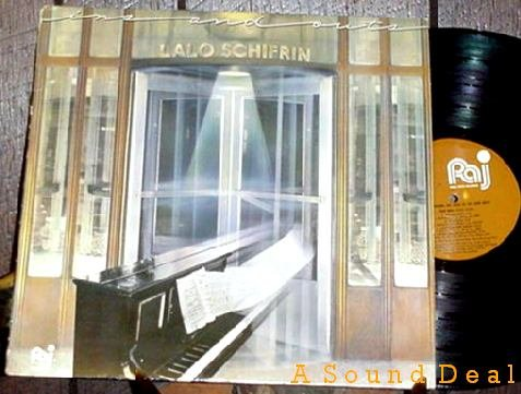 LALO SCHIFRIN INS AND OUTS OOP '82 PALO ALTO LP MINT!