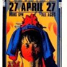 TOADIES CIV Silkscreen '96 Gig HANDBILL Poster Arminski