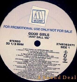 GOOD GIRLS RARE PROMO ONLY '92 LP JUST CALL ME
