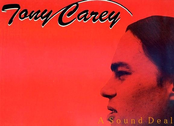 TONY CAREY HTF '82 S/T OOP ROCSHIRE LP I WON'T BE HOME