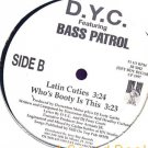 "DYC BASS PATROL 12""FREESTYLE LATIN CUTIES BOOTY GANGSTA"