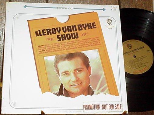 LEROY VAN DYKE SHOW RARE ORIGINAL '65 DJ STEREO LP