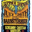 SUMMER SHINDIG God Street Wine++ '97 HANDBILL Poster