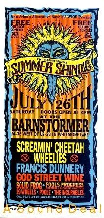 SUMMER SHINDIG God Street Wine++ '97 HANDBILL Poster