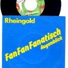 """RHEINGOLD Fan Fanatisch 45 HTF '81 German 7"""" ASD"""