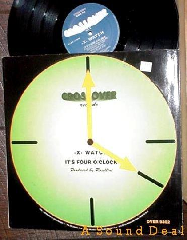 "-X- WATCH Italo 12""IT'S THREE O'CLOCK Rossellini Techno"