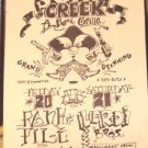 RANK & FILE Soap Creek Texas '82 Gig POSTER ASD