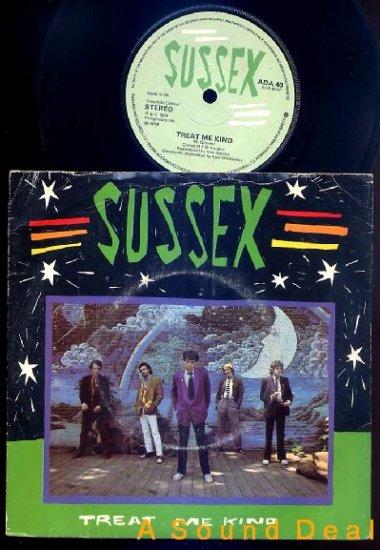 "SUSSEX Treat Me Kind '79 UK Punk 45 Radar 7"" ASD"