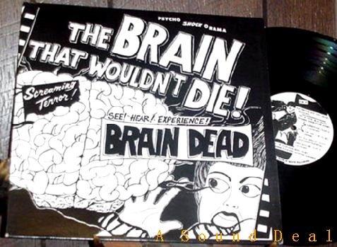 BRAIN DEAD WOULDN'T DIE PRIVATE KY'87 PUNK LP KBD HEAR!