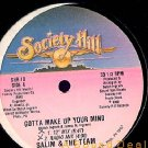 "SALIM TEAM'90 PHILLY RANDOM 12"" GOTTA MAKE UP YOUR MIND"