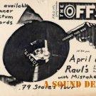 The OFFS San Francisco Punk Texas Rauls'79 Handbill KBD