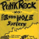 BUTTHOLE SURFERS New Mexico'87 PUNK Gig HANDBILL Poster