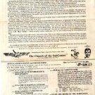 SUBGENIUS Vintage '80s HANDBILL Bob Dobbs DEVO Flyer