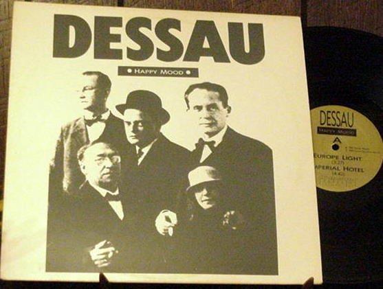 "DESSAU HAPPY MOOD RARE'86 FACTION 12"" EP INDUSTRIAL EBM"