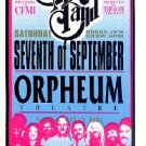ALLMAN BROTHERS Orpheum'96 Gig HANDBILL Mushroom Poster