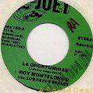 "ROY MONTELONGO JOEY '77 DJ 7"" TEX-MEX TEJANO OPORTUNIDA"