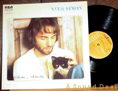 YVES SIMON Out of Print '74 France LP RESPIRER CHANTER