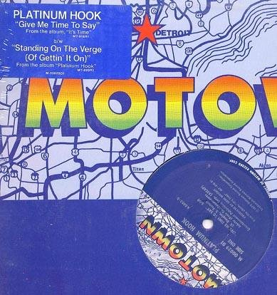 "PLATINUM HOOK Give Me Time Seal'79 Motown 12"" ASD"