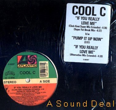 """COOL C If You Really Love Me (REMIX) 12"""" STEADY B"""