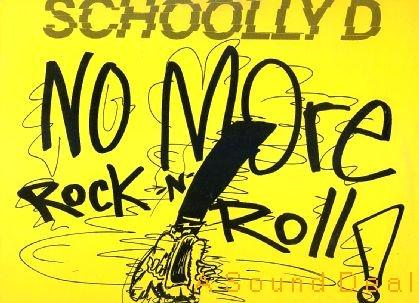 "SCHOOLLY D No More Rock'n'Roll! 12""OG Jive'88 ASD"