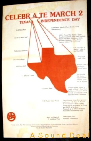 TEXAS INDEPENDENCE DAY Poster Delta Sigma Phi BEVO