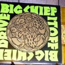BIG CHIEF DRIVE IT OFF LP + FLYER ORIGINAL YELLOW WAX