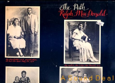 RALPH MACDONALD The Path OOP '78 Jazz Funk LP ASD