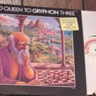 GRYPHON RED QUEEN TO GRYPHON THREE DJ PRO LP OG'74 PROG