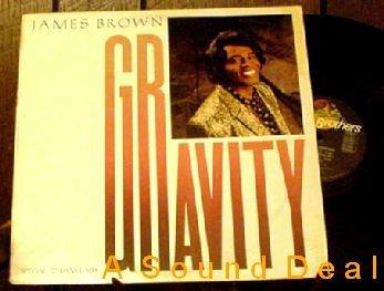 """JAMES BROWN ORIGINAL '86 PS 12"""" GRAVITY FUNK"""