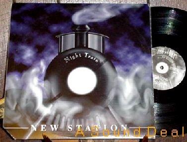 """NEW STATION HTF'96 PS 12"""" NIGHT TRAIN TRANCE TECHNO RMX"""