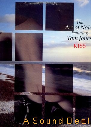 "ART OF NOISE ORIG KISS '88 PS 12"" TOM JONES ELECTRONICA"