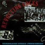 """REVOLTING COCKS '88 WAX TRAX! 12"""" STAINLESS STEEL +INS"""