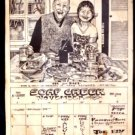 SOAP CREEK SALOON'80 Poster Marcia Ball Joe Ely Lou Ann