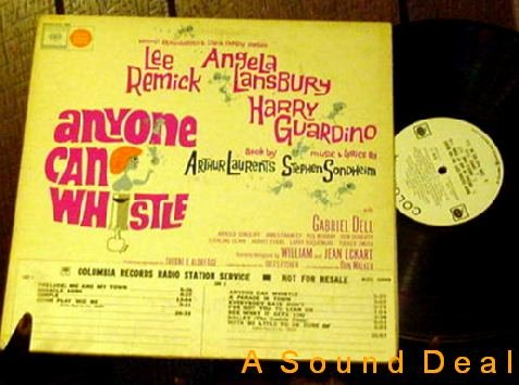 ANYONE CAN WHISTLE OBC '64 PROMO LP