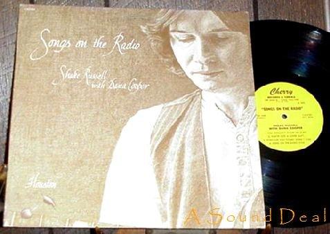 SHAKE RUSSELL DANA COOPER TEXAS RADIO SONGS LP SIGNED