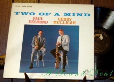 PAUL DESMOND GERRY MULLIGAN Two of a Mind LP '63 Stereo