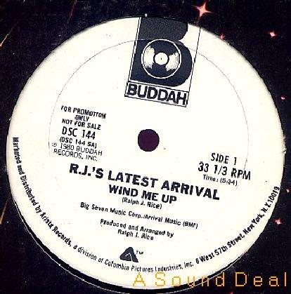 "RJ's LATEST ARRIVAL Wind Me Up 12"" ASD funk HEAR"