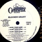 "ELEANOR GRANT HTF BOOGIE '83 DJ RMX 12"" NAME YOUR GAME"