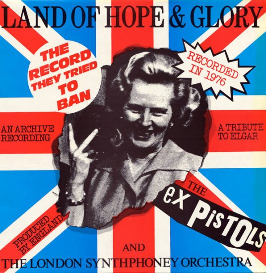"sEx PISTOLS EX HTF FRENCH PS 12"" LAND OF HOPE & GLORY"