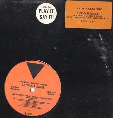 "LATIN ALLIANCE OG OLDSKOOL DJ '91 12"" LOW RIDER GANGSTA"