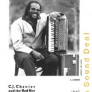 CJ CHENIER RARE OG PRESS PHOTO ZYDECO SQUEEZEBOX POSTER