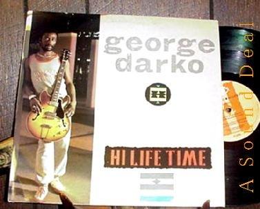 GEORGE DARKO HTF '83 UK OVAL LP HI LIFE TIME OOP