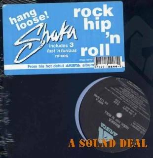 "SHAKA Rock Hip 'n Roll SEALED '91 12"" hop rap ext remix"