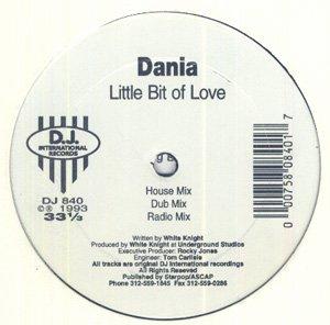 "DANIA OG'93 DJ INT'L 12"" - LITTLE BIT OF LOVE FREESTYLE"