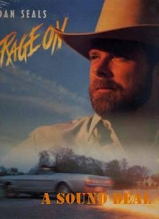 ENGLAND DAN SEALS RAGE ON Out of Print Sealed '88 LP