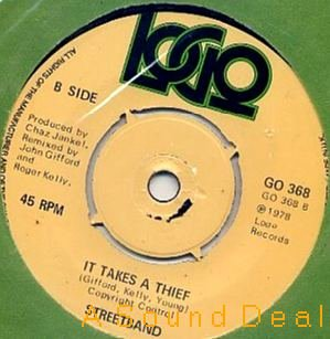 """STREETBAND SEALED '79 UK WAVE 7"""" MIRROR STAR PAUL YOUNG"""