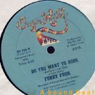 FUNKY FOUR DO YOU WANT TO ROCK? ORIG '82 SUGARHILL 12""