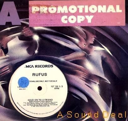 "RUFUS '81 DJ PRO 12""PARTY'TIL YOU'RE BROKE BOOGIE FUNK"