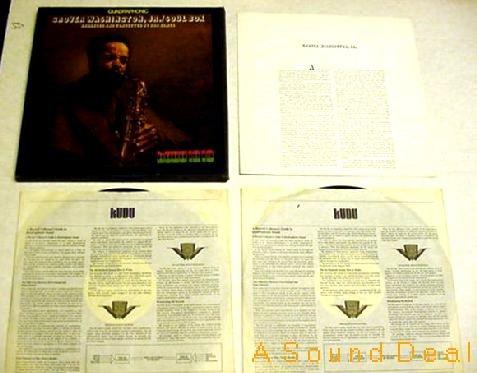 GROVER WASHINGTON JR RARE OG '73 QUAD 2 LP SOUL BOX MNT