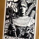 ED HALL Wannabes POSTER Rare Cannibal Club '89 KOZIK